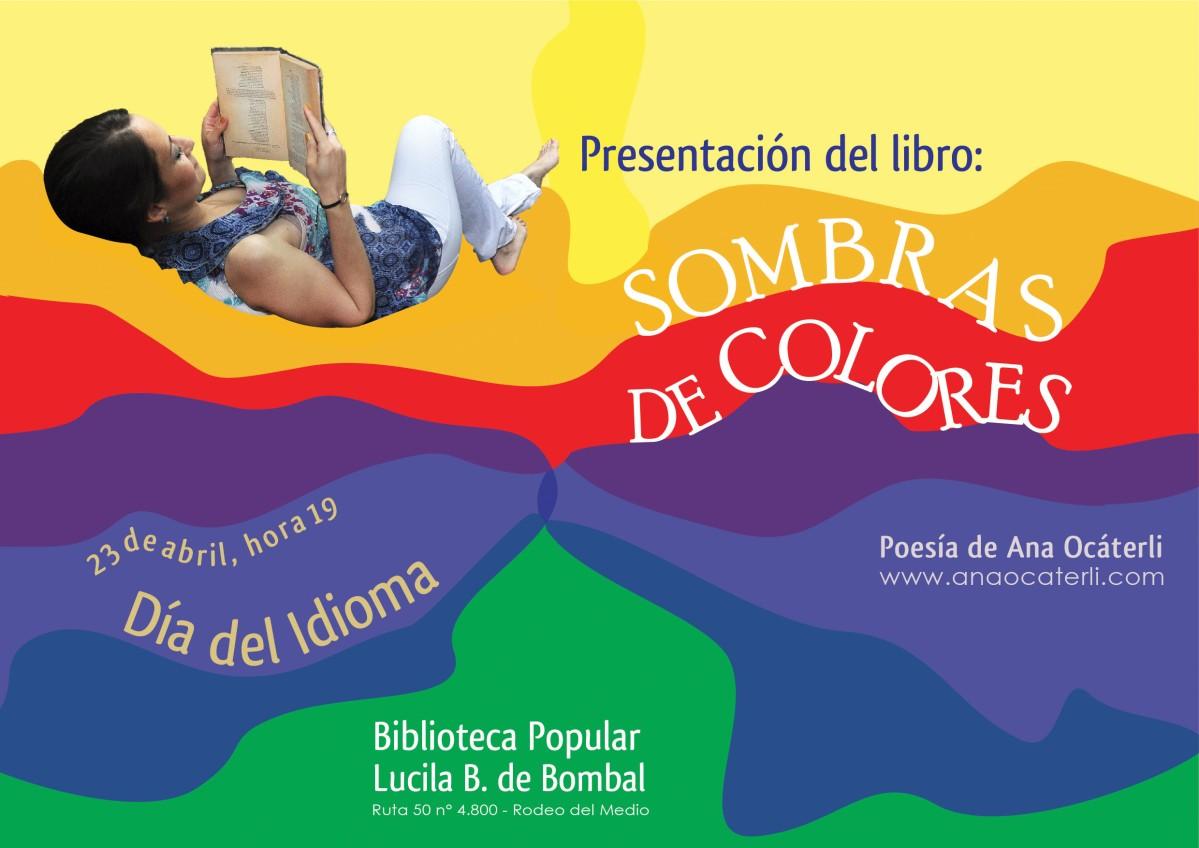 Presentación del libro de poesía Sombras de Colores – Ana Ocáterli